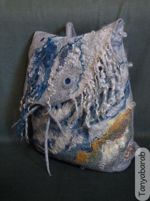 Как свалять рюкзак из шерсти рюкзак vaude accept 90 10 ii купить в москве