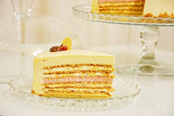 Торт сникерс с орехами фото 3