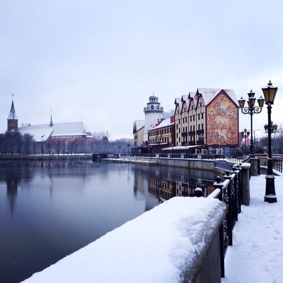 калининград в декабре фото лемпицка биография художника