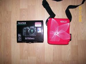 Fuji camera and case