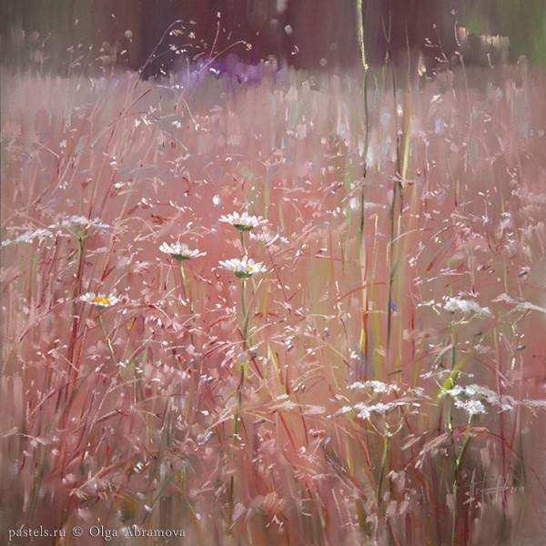 Кенозерье. Розовое поле