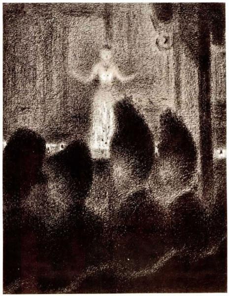Georges-Pierre Seurat. В японском диване