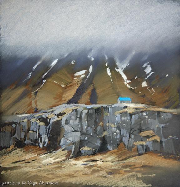 Исландия 6. Reyðarfjörður 32х31, 2014