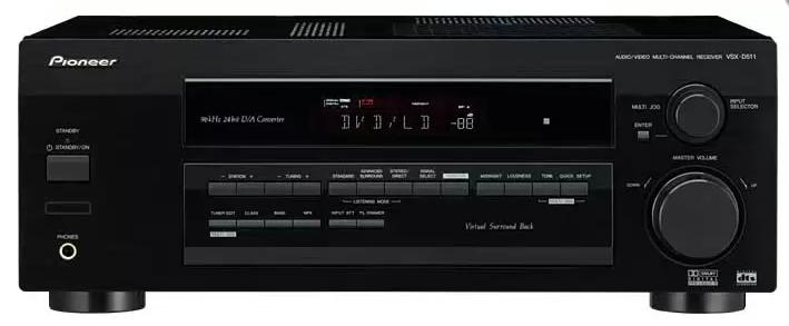 Pioneer VSX-D511-VSX-D511-K