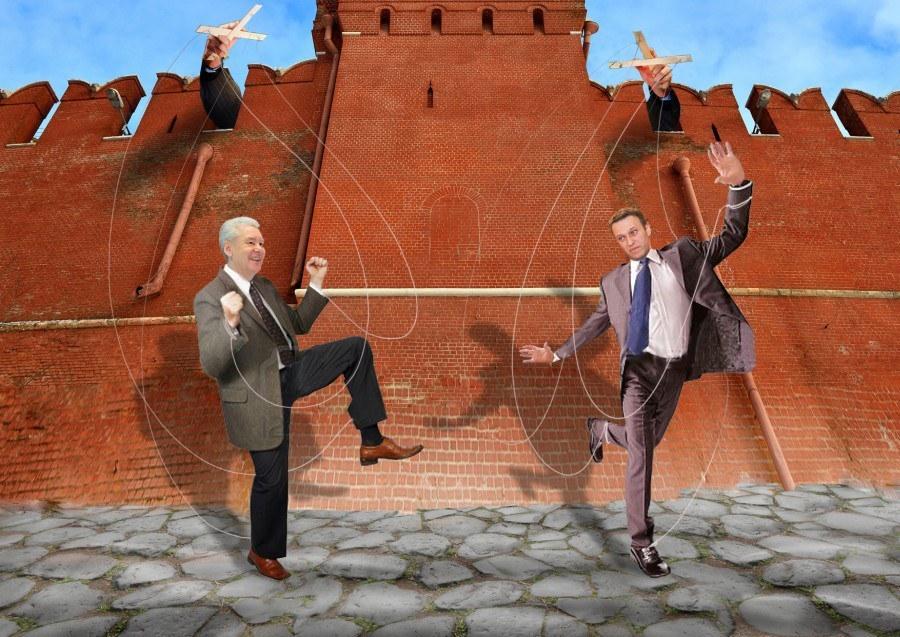 Навальный марионетка Кремля