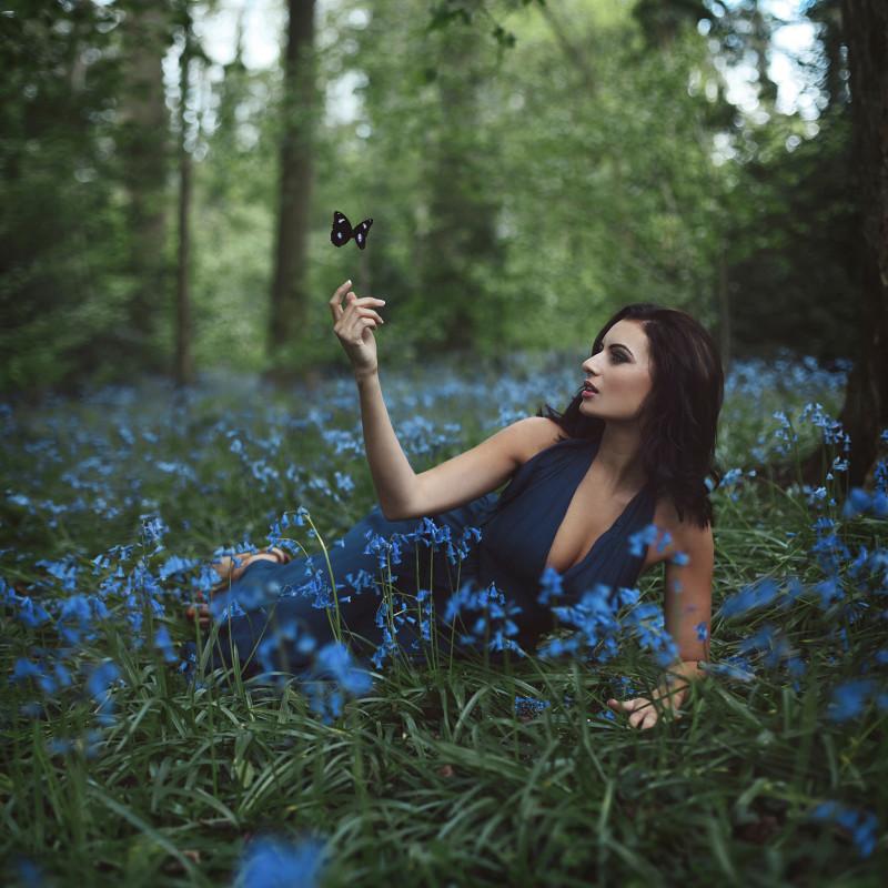 девушка-в-лесу