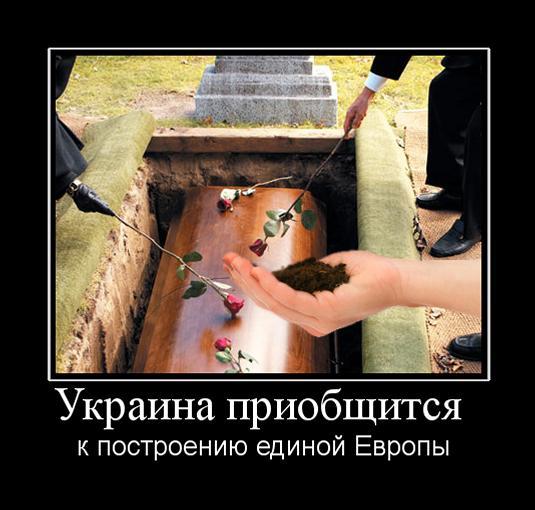 демотиваторы украина стена ряде