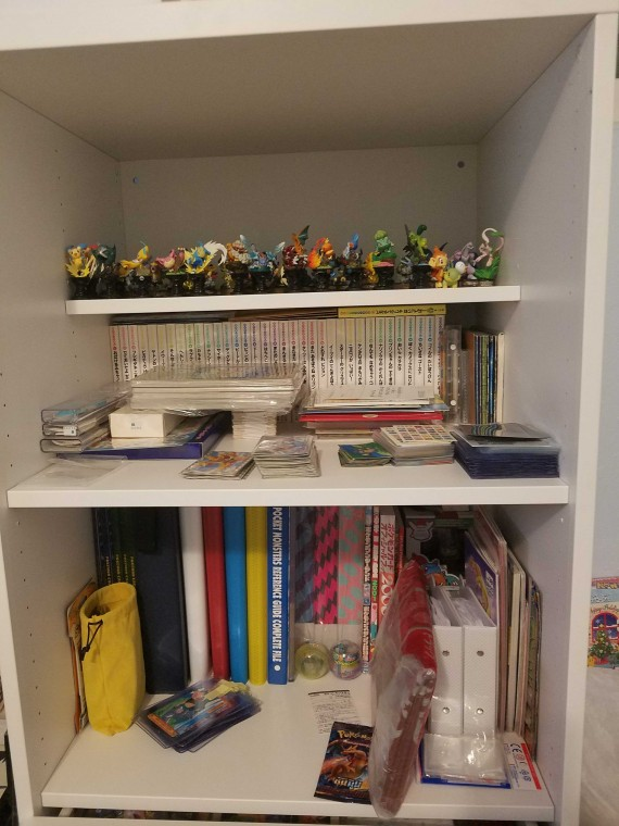 Part of my collection storage...running out of room lol