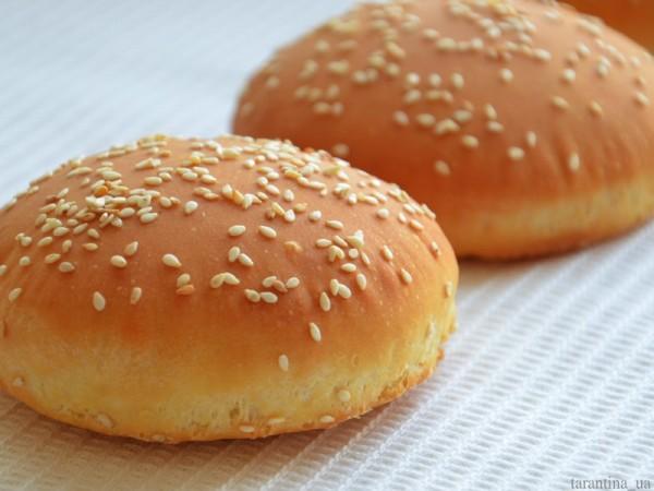 Булочки гамбургеров в домашних условиях