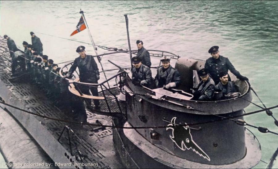 немецкая база подводных лодок фото
