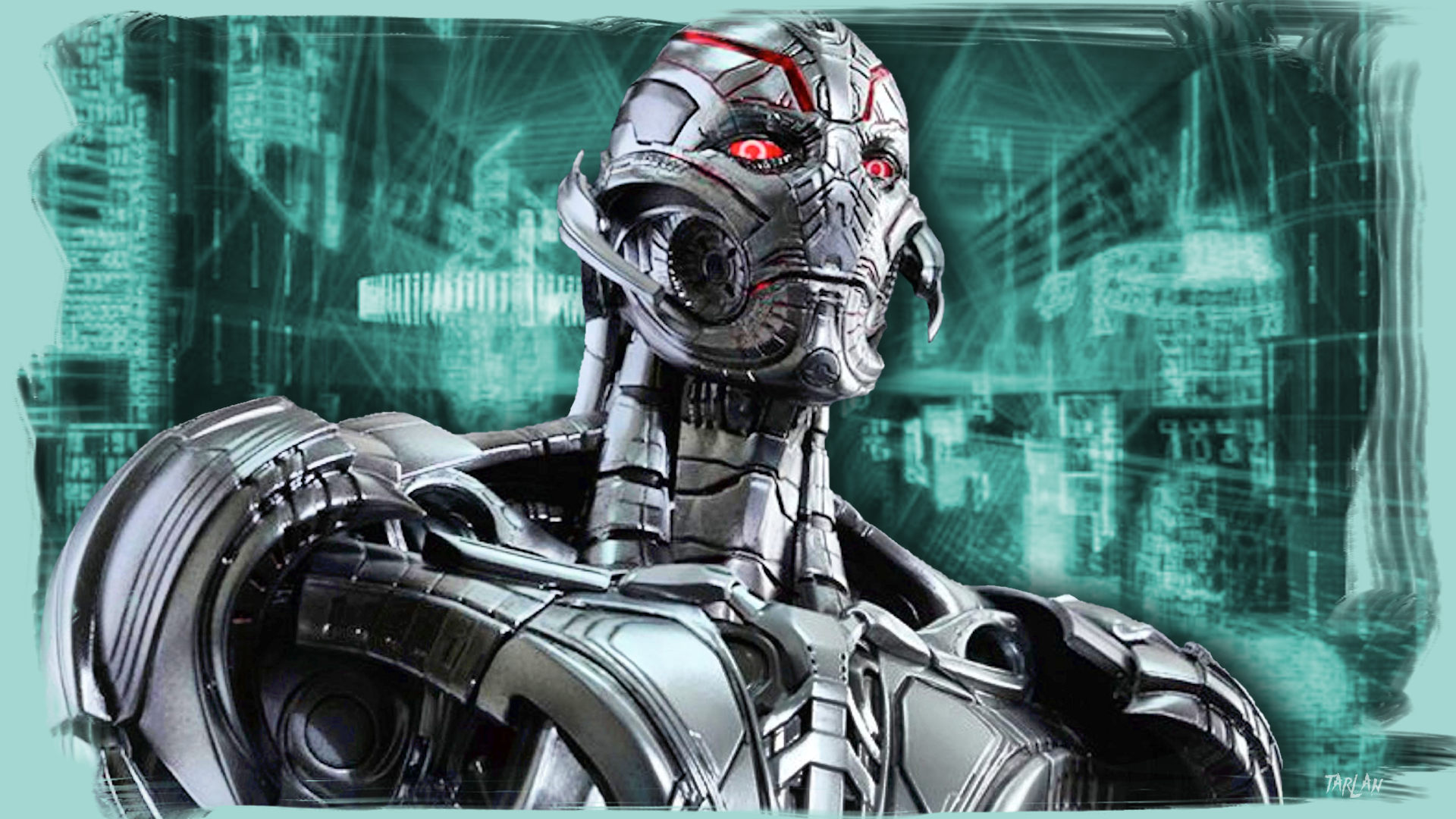 12-02 Ultron - Avengers MCU by Tarlan