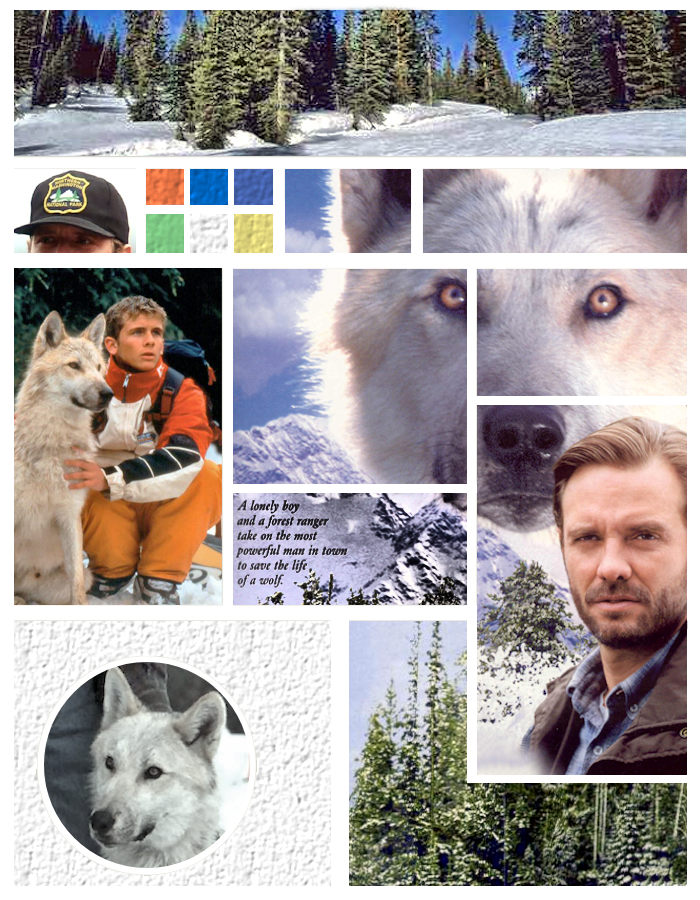 Land of Art 13 Bingo 19-09 - Silver Wolf Moodboard by Tarlan