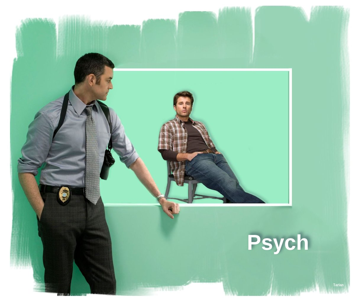 gallery for psych wallpaper lassiter