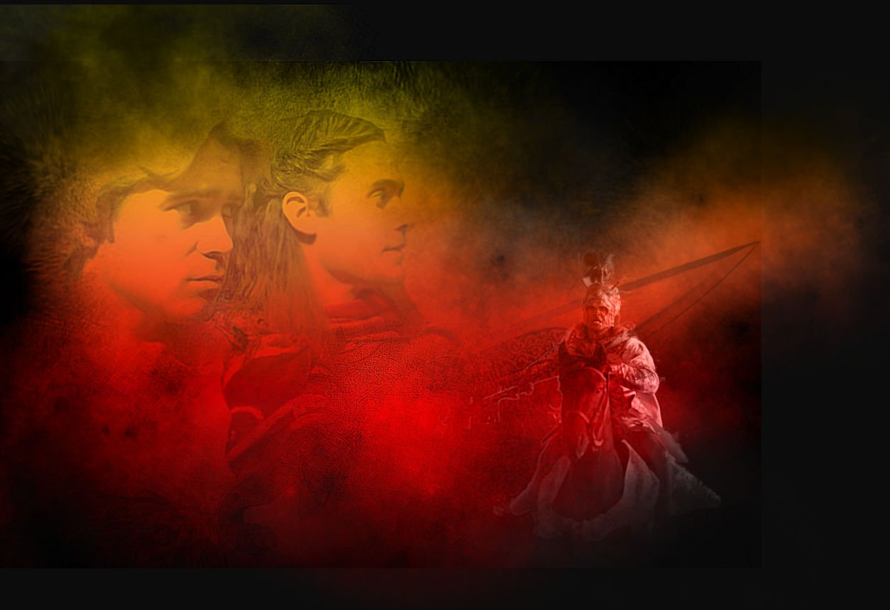 Alexander and Hephaistion - Pride by Tarlan. Created for Smallfandomfest 17