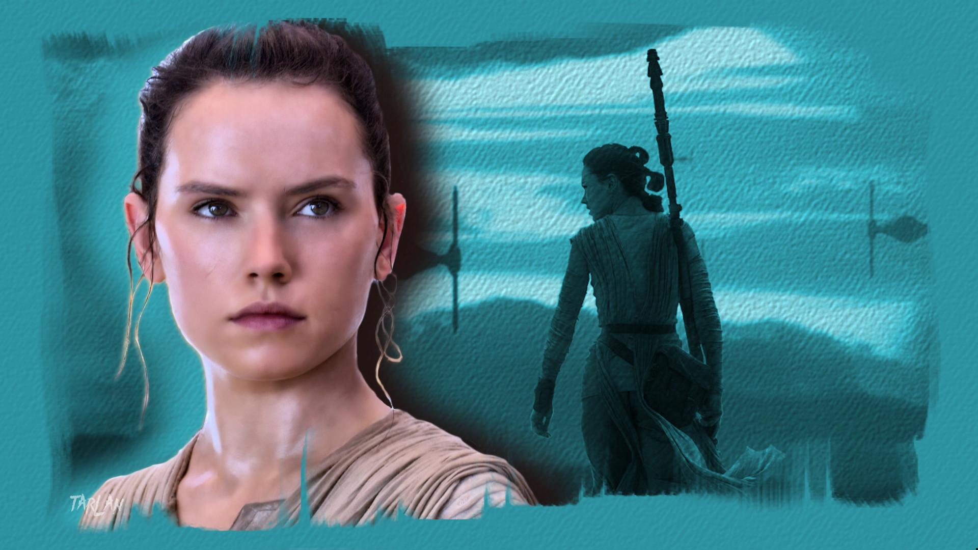 Rey - Star Wars by Tarlan