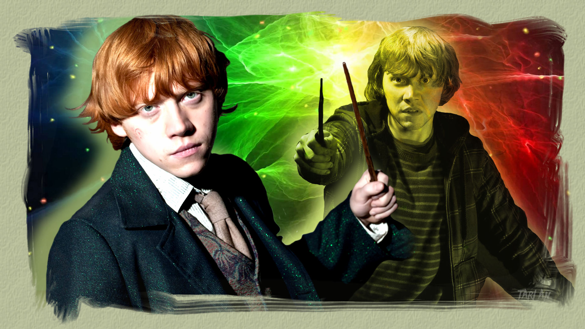 Harry Potter - Ron Weasley by Tarlan