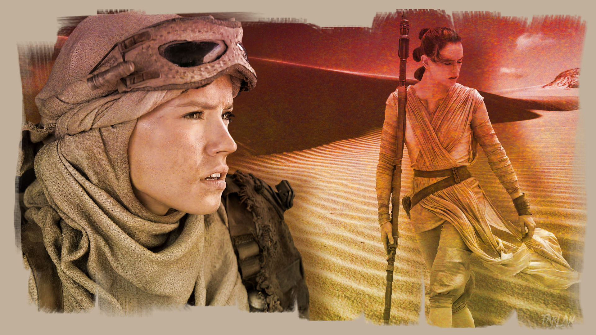 Star Wars - Rey 2 by Tarlan