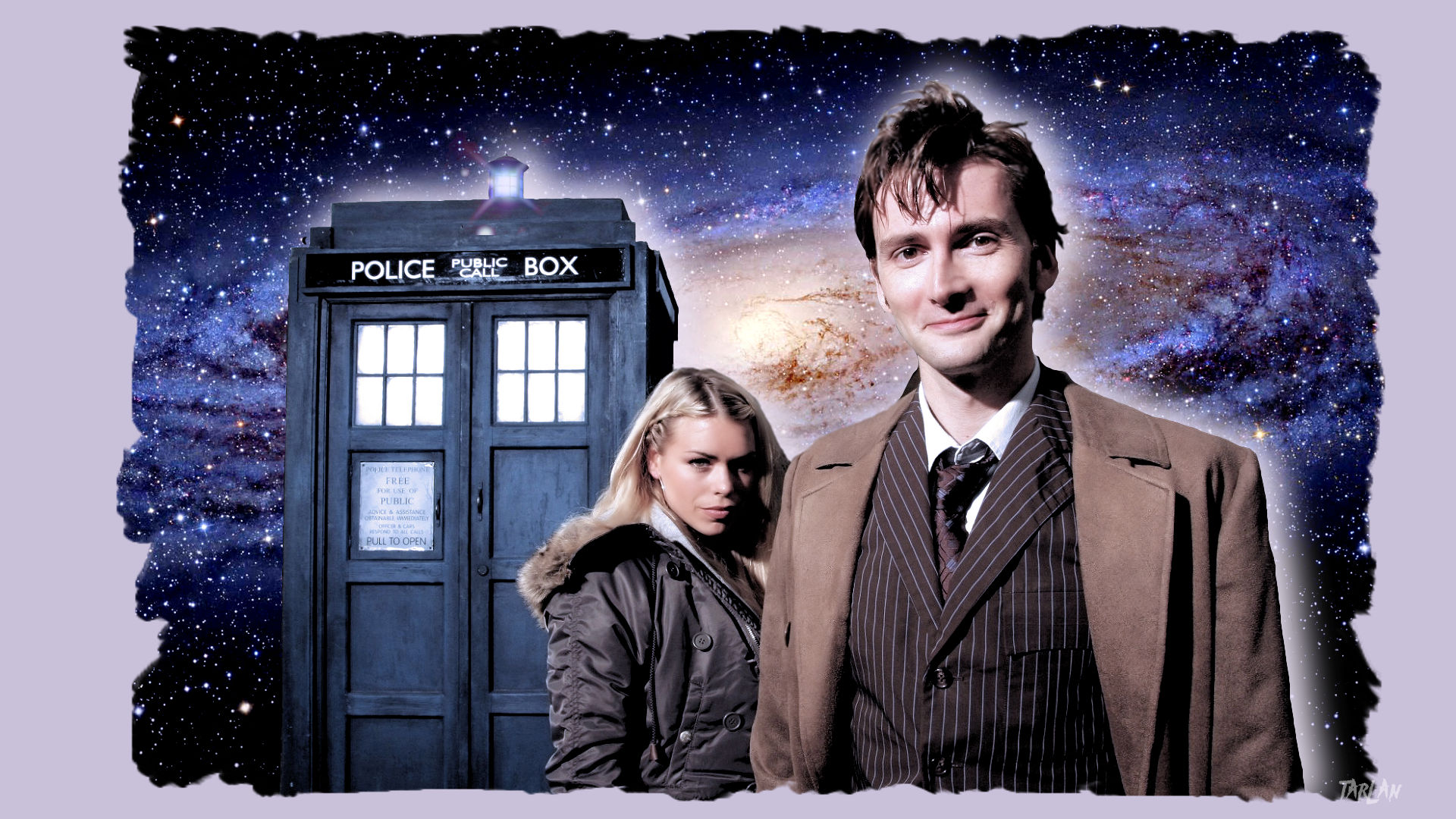 Doctor Who - Rose and Ten by Tarlan
