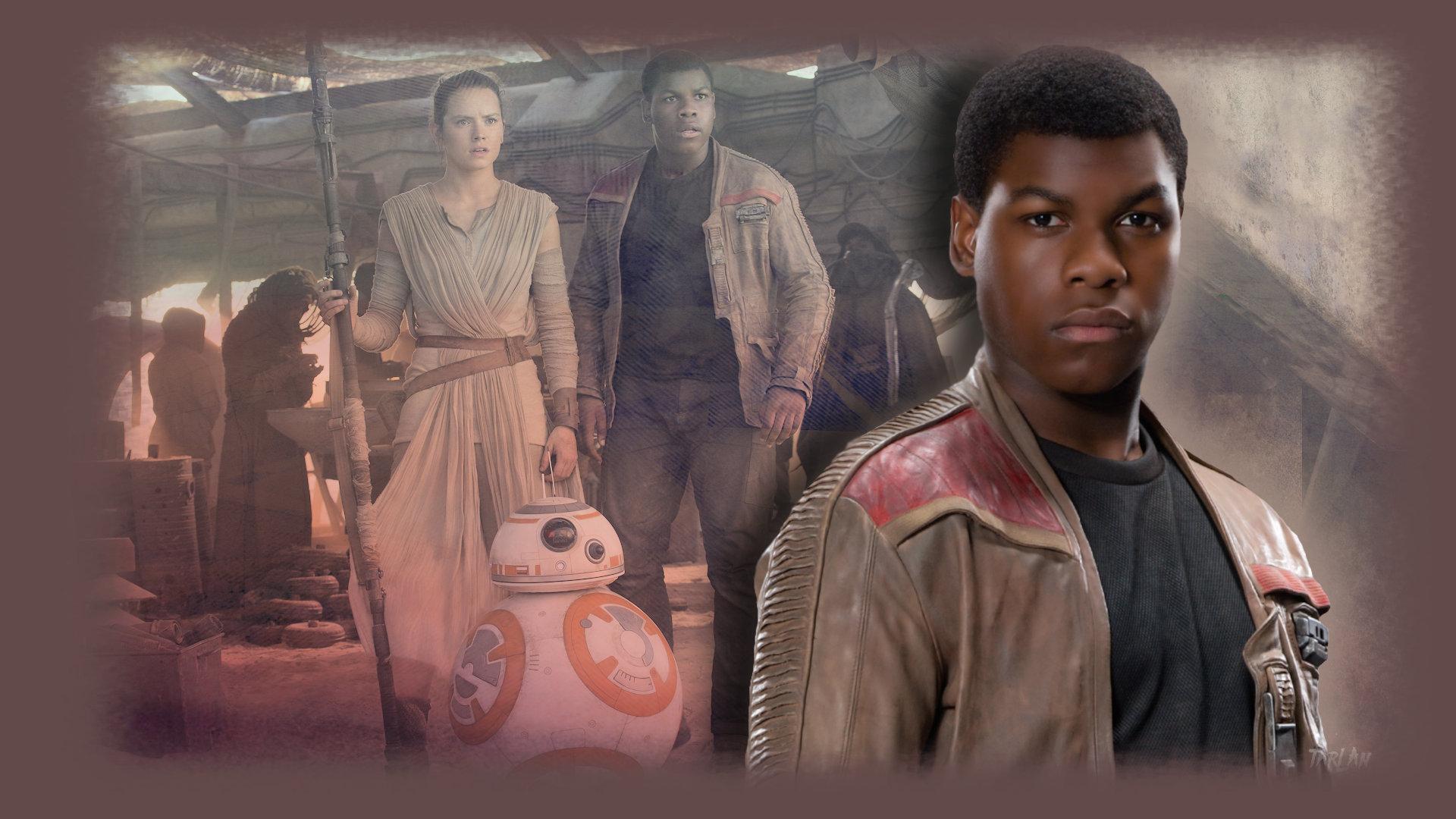 Star Wars - Rey and Finn by Tarlan