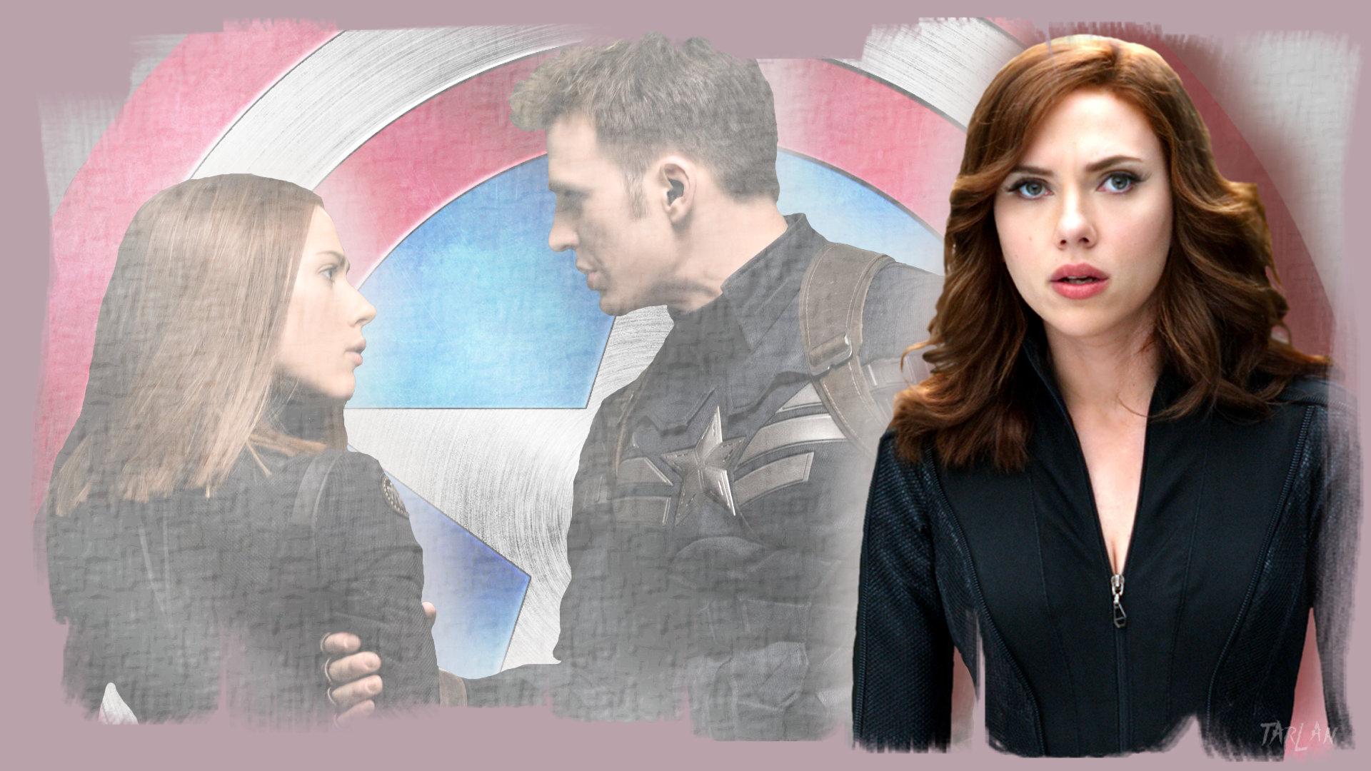 Avengers - Steve and Natasha by Tarlan