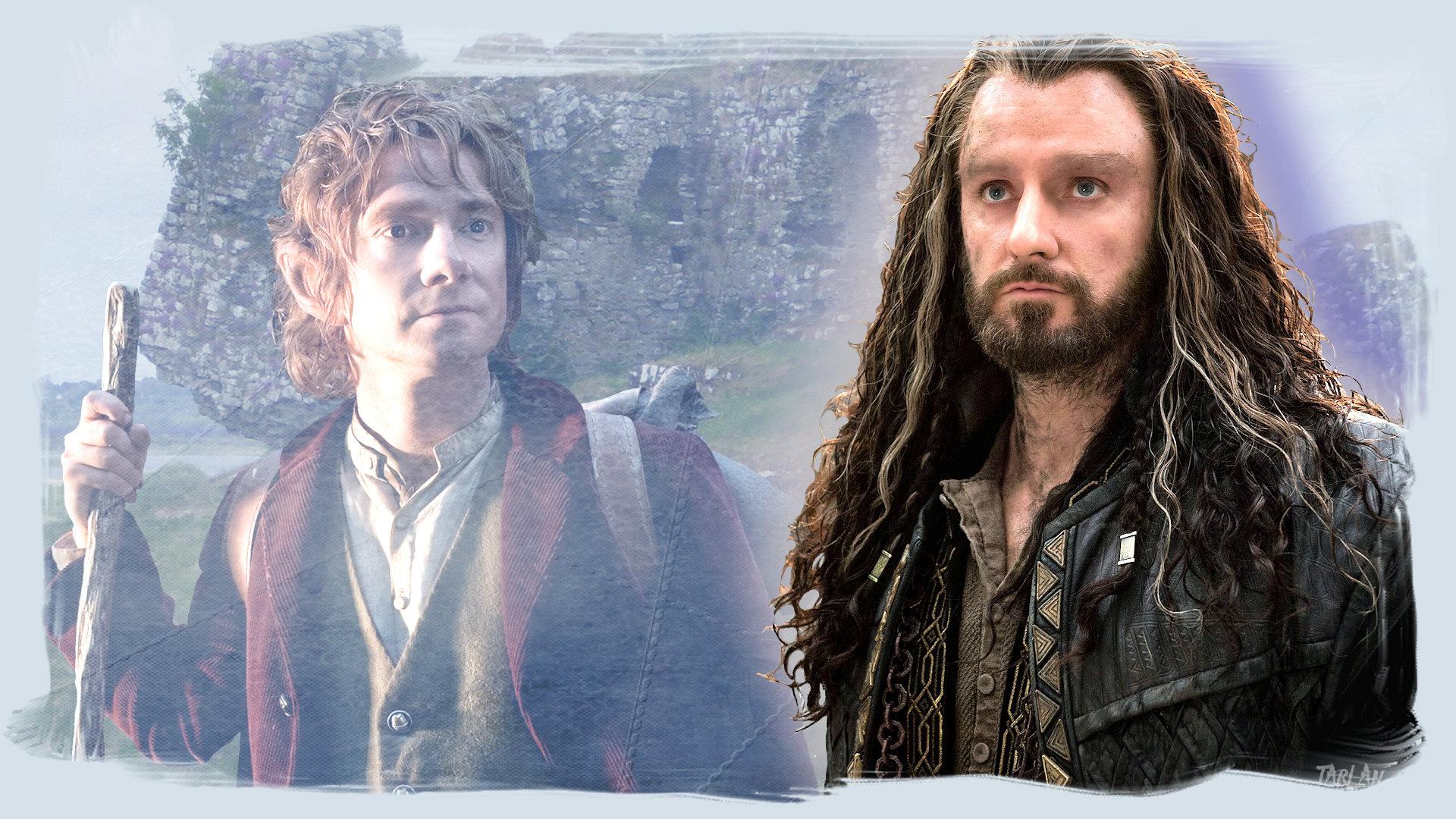 The Hobbit - Thorin and Bilbo by Tarlan