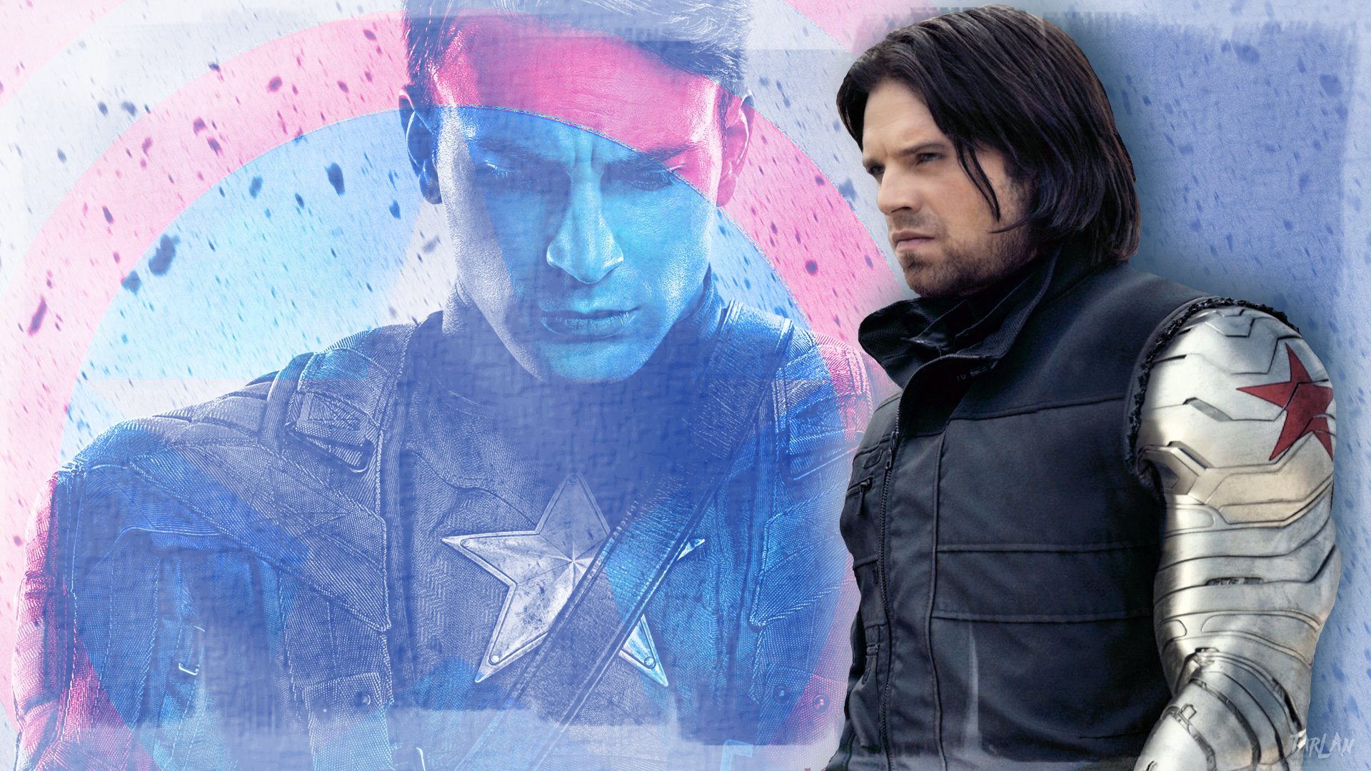 Avengers - Steve and Bucky by Tarlan