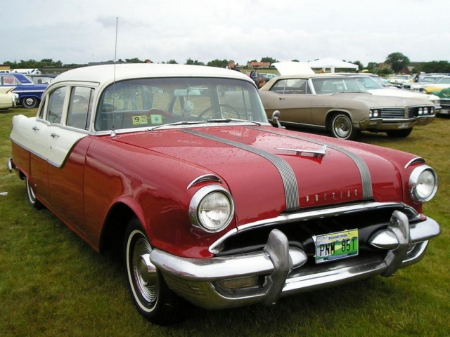 1955 gm cars of the day lord k for 1955 pontiac chieftain 4 door