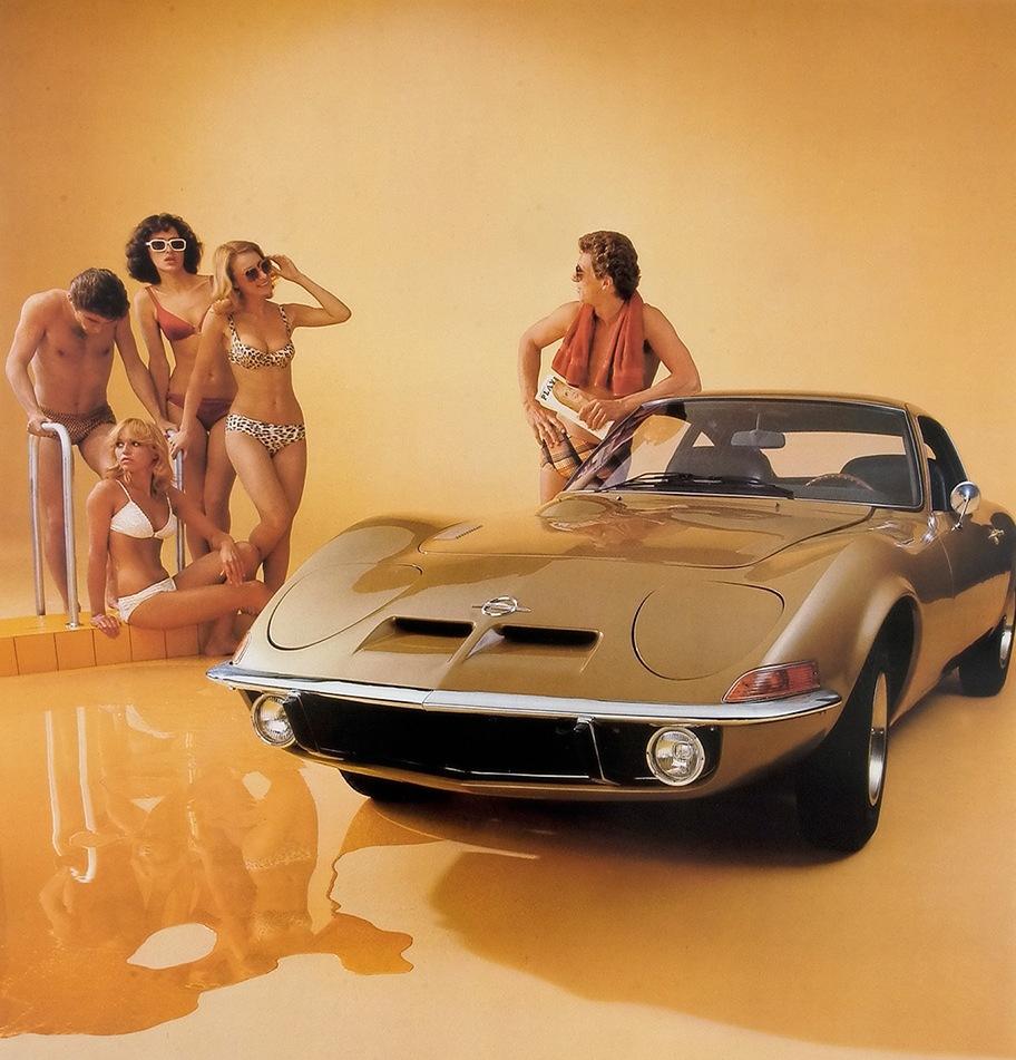 1972 Opel GT lg
