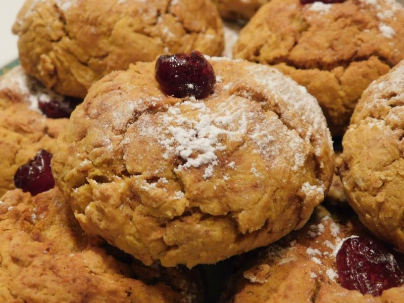 Печенье из тыквенного теста