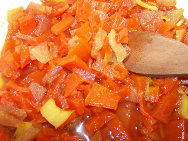 джем из тыквы с апельсином