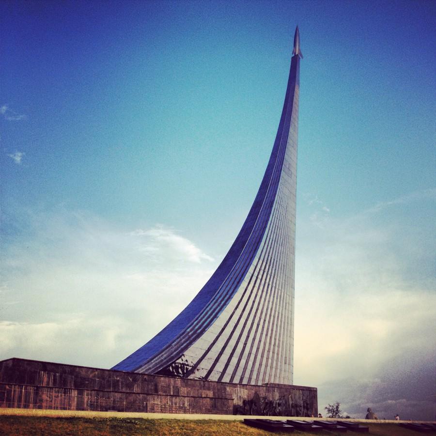 ВДНХ, павильон Космос, ракета Восток