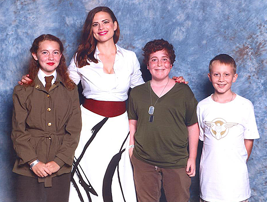 Hayley Atwell and the Nascent Geeks