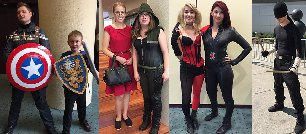 Cosplayers of Awesome