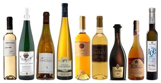 Сладкие вина 750