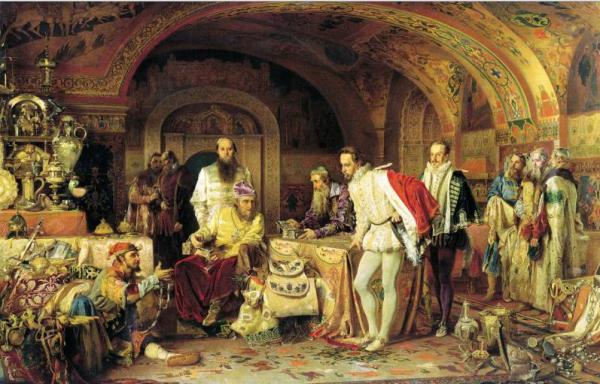 Средневековая дипломатия в Москве | ПО ГОРОДАМ И СТРАНАМ