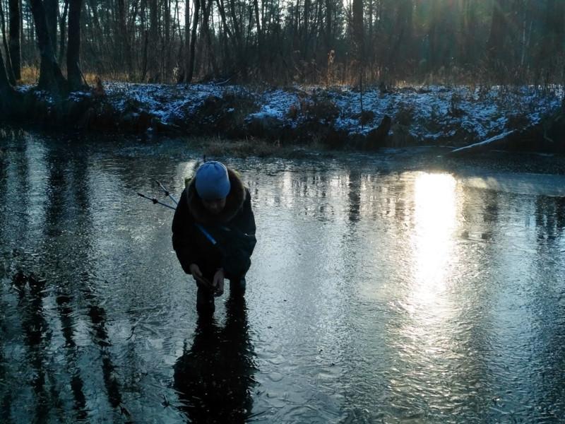 Что можно увидеть подо льдом - это потрясающе! Московская область