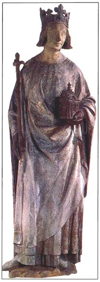 Французский король Карл V Мудрый. Около 1380 г.