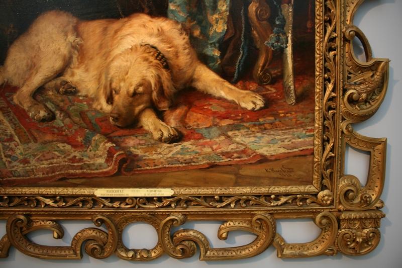 онстантин Маковский «В мастерской художника» 1881