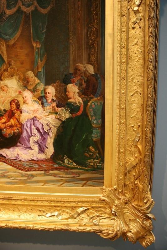 Валерий Якоби «Шуты при дворе Анны Иоанновны» 1872 (фрагмент)