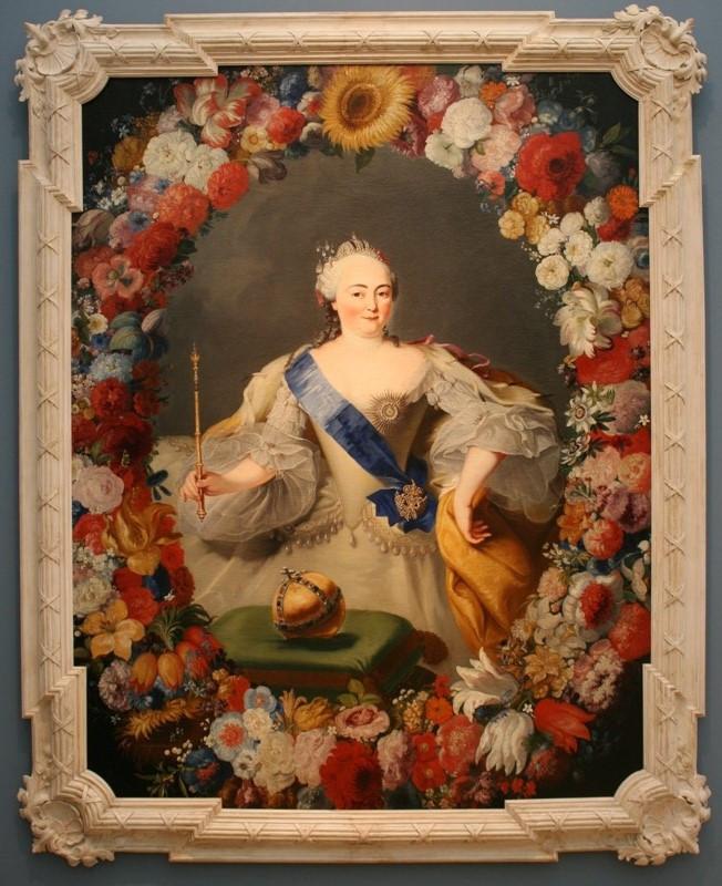 Г.Г.И. фон Преннер «Портрет императрицы Елизаветы Петровны» 1754