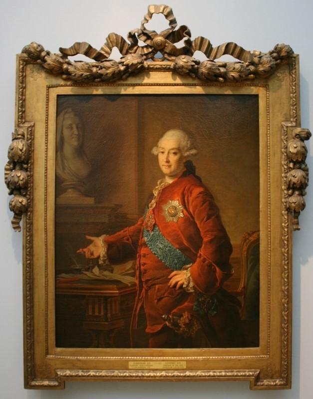 Дмитрий Левицкий «Портрет князя А.М.Голицына» 1772