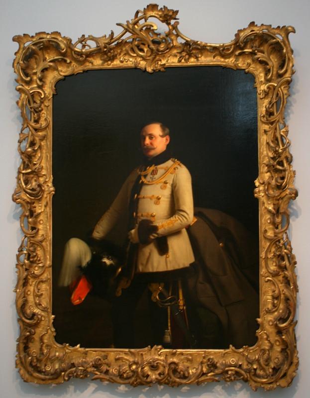Сергей Зарянко «Портрет поручика А.Д.Пономарева» 1855