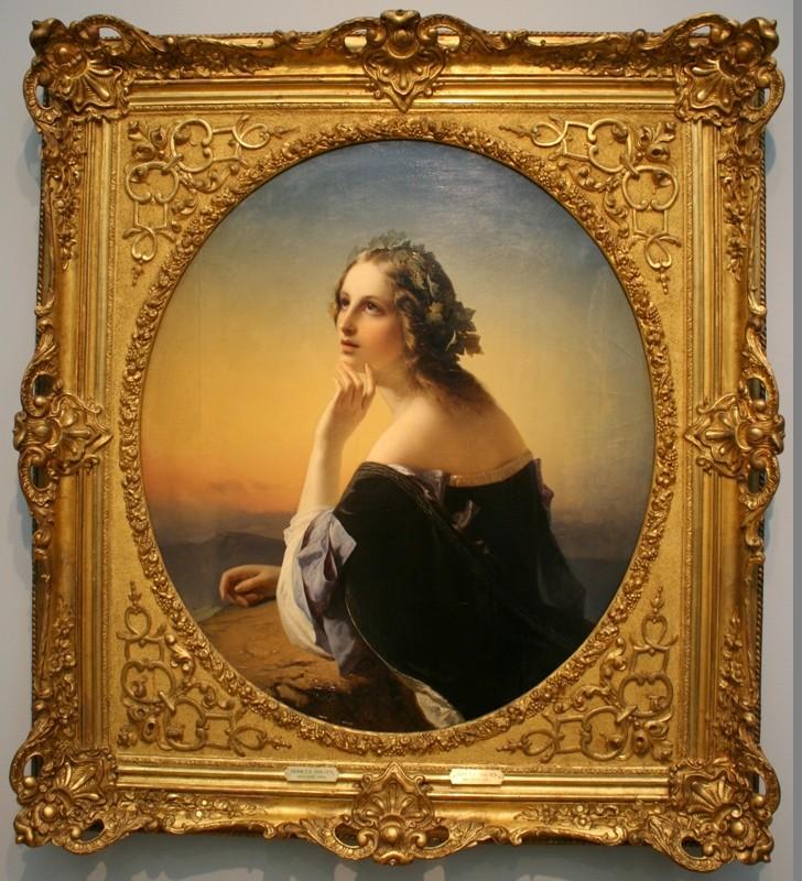 имофей Нефф «Мечтание» 1840-е