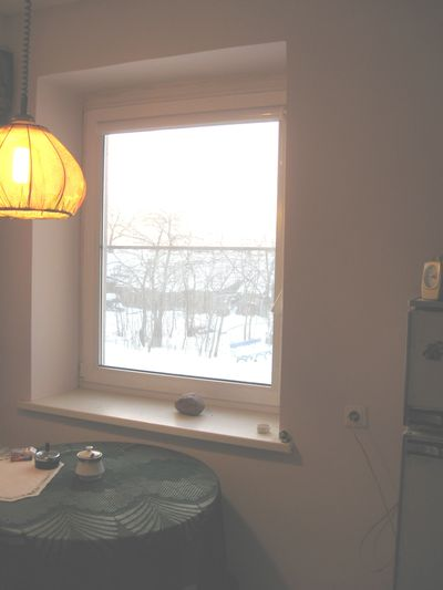 4 kuhnia. Okno na ozero