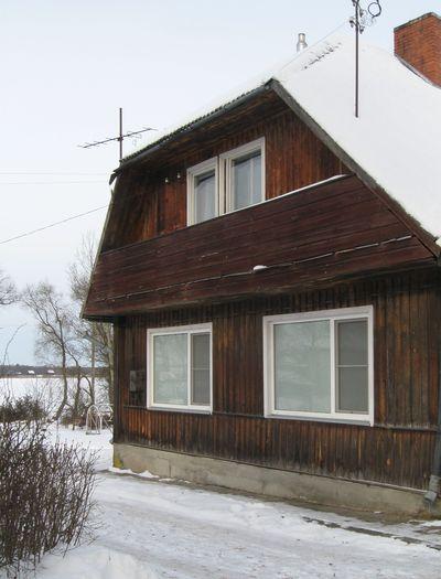 8 dom s ulicy. Niznie okna nashi