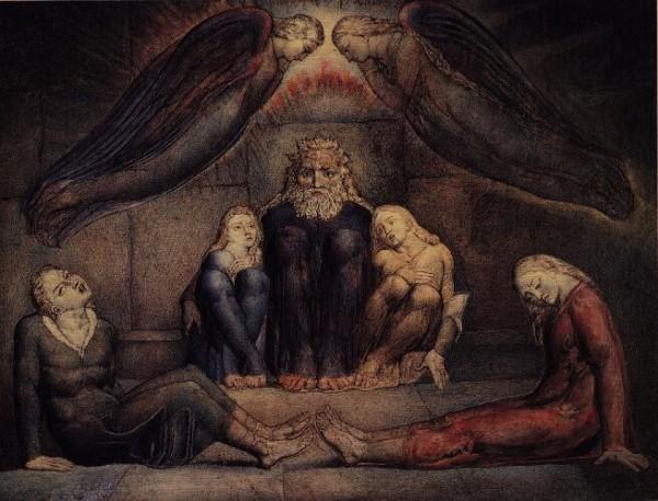 Иллюсрация к Аду Данте. Уильям Блейк