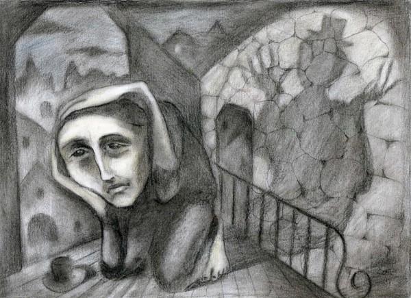 Писатель и тень