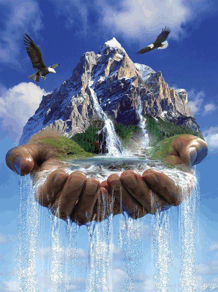 Природа в руках человека