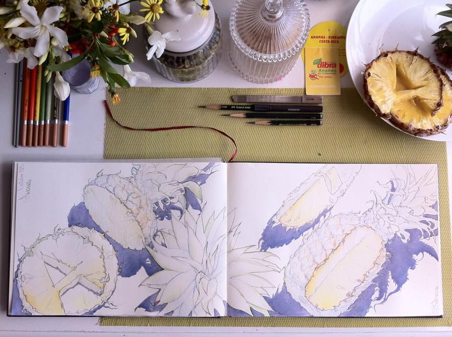 ананасы разворот