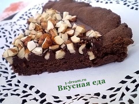 Рецепты тортов пошагово шоколадный с орехом
